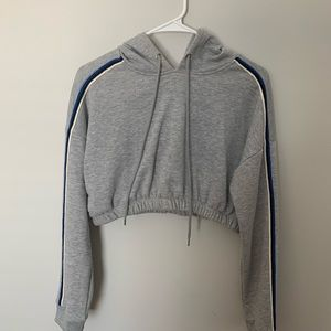 Cop top sweater with hood